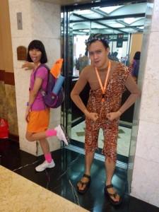 Dora dan Tarzan selalu bersama
