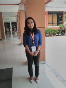 Della salah satu peserta Smart Team dari Contact Pertamina