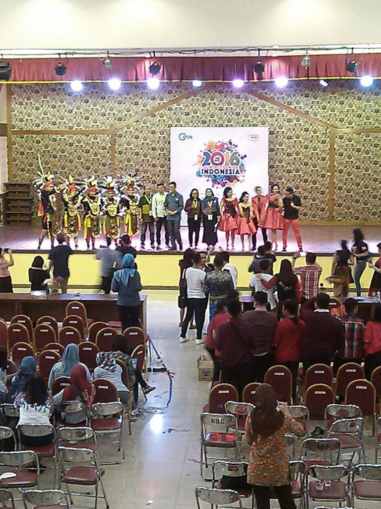 Pemenang Kategori Talent TBCCI 2016.