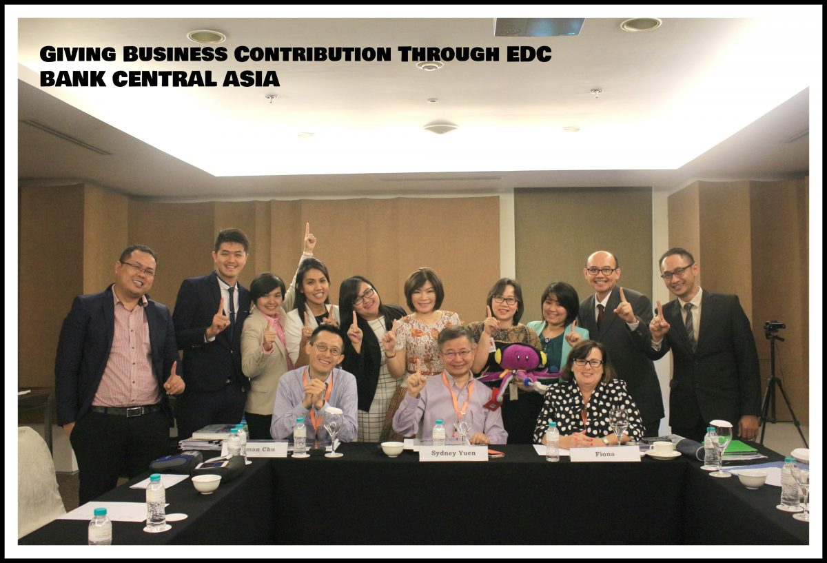 Halo BCA : Business Contribution Through EDC