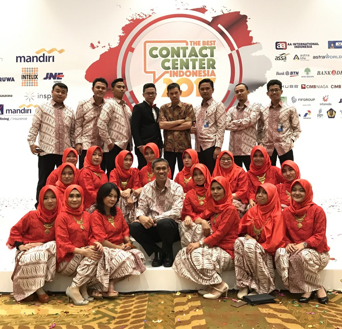 Pemenang The Best Contact Center Indonesia 2017